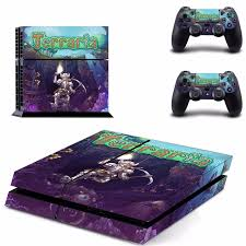 Game Terraria Ps4 Skin Sticker Decal For Sony Playstation 4 Console And 2 Controllers Ps4 Skins Sticker Vinyl Decal Skin Sticker Decal Stickersony 4 Stickers Aliexpress