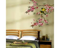 Cherry Blossom Wall Decals Vinyl Wall Art Stickers