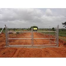 Iron Manual Electric Fencing Gate For Farm And Resorts Rs 8900 Piece Id 21981114833