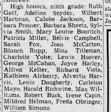 High Honord 9th grade Calobe jackson jr. - Newspapers.com