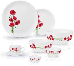 luminarc hypnosis glass dinnerware set
