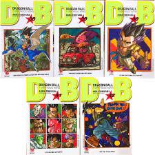 Sách - Combo Dragon Ball 7 viên ngọc rồng - 5 quyển