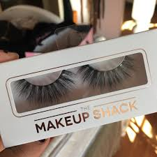 the makeup shack silk lashes in the