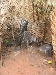 Autels en pierre des « lieux de Dieu » tsu'Ssi à Bansoa (Cameroun ...