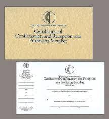 united methodist church certificates