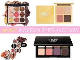 korean eyeshadows and palettes