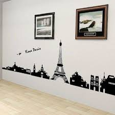Personalized Wall Stickers Tv Background Wall Fashion Wall Stickers Paris Wall Decor Stickers