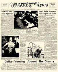 Ada Weekly News Newspaper Archives, Nov 16, 1961, p. 1