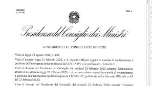Decreto Coronavirus: il testo integrale - Digitalic