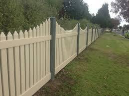 Pvc Colour Kookaburra Picket Fence 2 39m Panel Various Heights Colours Ebay