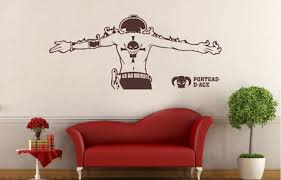 Ace One Piece Wall Decal Removable Sticker Home Decoration Kids Vinyl Art Mural Ebay