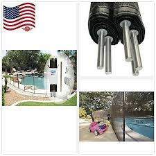 Pools Spas Pool Fence Diy By Life Saver Replacement Peg Pole 4 Foot Spare Pole Black Home Garden Pools Spas
