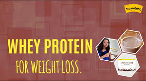 whey protein shakes for weight loss