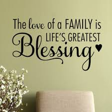 features title the love of a family is lifes greatest blessing