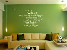 Wake Up Every Morning With Wonderful Quote Art Words Wall Sticker Decal Uk 286 Trach Law Co Il