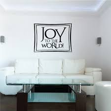 Joy To The World Christmas Quote Wall Decal Vinyl Decal Car Decal Vd132 36 Inches Walmart Com Walmart Com
