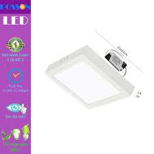 Đèn Led ốp trần 18w vuông ốp nổi Posson LP-So18x - P677503   Sàn thương mại  điện tử của khách hàng Viettelpost