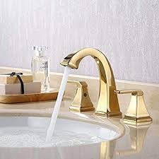 kes bathroom sink faucet 3 hole two