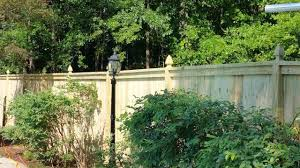 6ft French Gothic Cap Top Fence