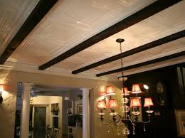 how to installing tin ceiling panels