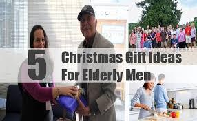 gifts for senior men