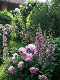 backyard flower garden design jardins