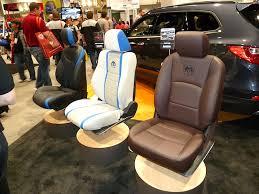 leather seat covers invade sema 2016