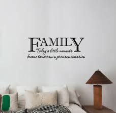Family Quote Wall Decal Vinyl Lettering Inspirational Sticker Art Room Decor Q42 Ebay