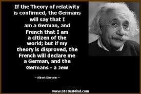 if the theory of relativity is confirmed the com