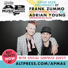 Sum 41 - Frank will be joining Adrian Young of DREAMCAR + ...