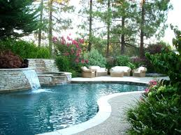 Landscape Ideas Around Pool Solidaria Garden Landscaping For Inground Pools Area Home Elements And Style Simple Swimming Designs Fence Crismatec Com