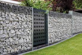 gard gabion garden wall back garden