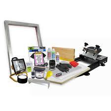 gig poster screen printing kit