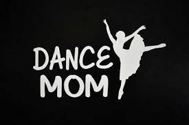 Dance Mom Ballet Shoes Vinyl Decal Sticker Car Window