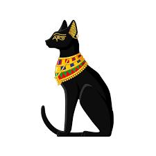 9 3cm 14 8cm Motorcycle Helmet Decal Egyptian Cat Funny Car Sticker 6 2291 Wish
