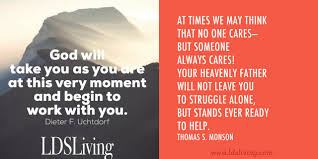 lds quotes for when you need confidence lds living