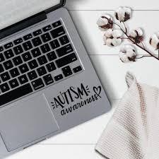 Autism Awareness Decal Autism Sticker Laptop Sticker Laptop Etsy