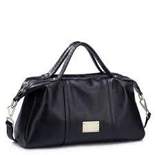 leather handbags tote handbag black