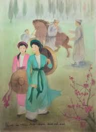 """Nữ họa sĩ 12 năm """"lẩy"""" tranh từ Truyện Kiều - Cổng Thông Tin Hội  Liên hiệp Phụ nữ Việt Nam"""