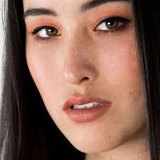 pretty in peach makeup look tutorial