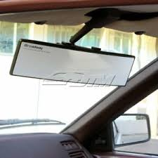 300mm Broadway Convex Curved Car Truck Clip On Rear View Mirror Universal Ebay