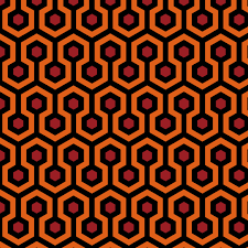 iconic carpet in the the shining