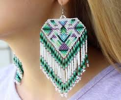 american indian beaded earrings