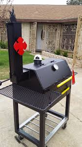 hand crafted custom themed bbq pit by