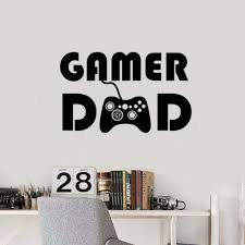 Amazon Com Wwttoo Gamer Wall Decal Ps4 Game Controller Video Wall Decals Personalised For Boy Bedroom Playroom Vinyl Removable Wall Stickers 42x25 Cm Home Kitchen