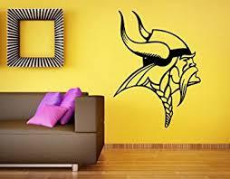 Amazon Com Minnesota Vikings Logo Wall Vinyl Decal Nfl Sticker Emblem Football Team Sport Home Interior Removable Decor Home Improvement