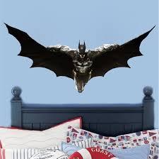 Flying Batman Wall Decal Superhero Wall Design Primedecals