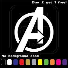 Avengers Symbols Superhero Marvel Apple Macbook Laptop Vinyl Sticker Decal For Sale Online Ebay
