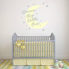 Yellow Dream Big Moon Stars Wall Decal Sticker Ws 51338 Ebay