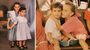 Georgina Rodriguez and her sister Ivana in childhood - YouTube